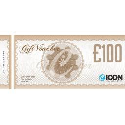 £100 ICON GIFT VOUCHER