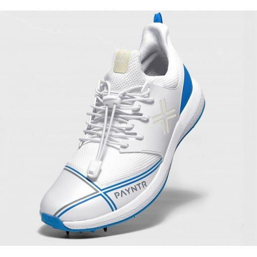 Payntr X Cricket Shoes - Steel Blue