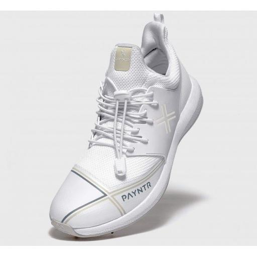 Payntr X Cricket Shoes - Classic White