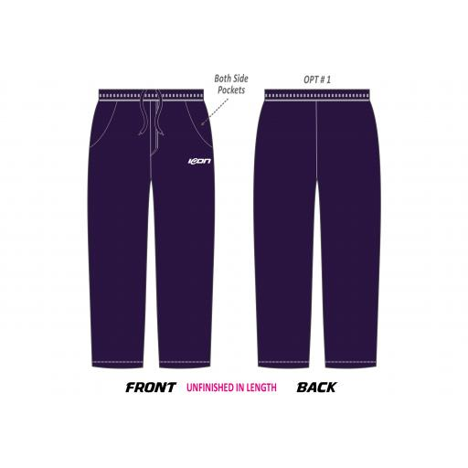 ICON CLUB T20 Cricket Trousers (Navy)