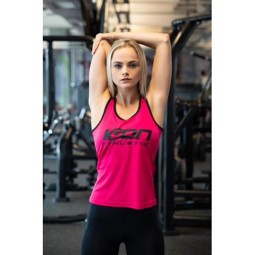ICON Athletic Panelled Fitness Vest
