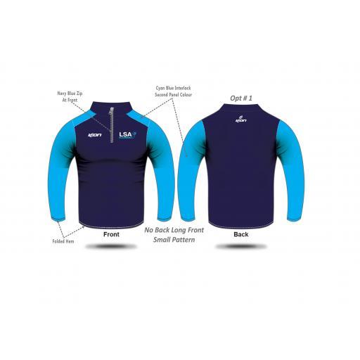 LSA 1/4 Zip Jacket - Wholesale